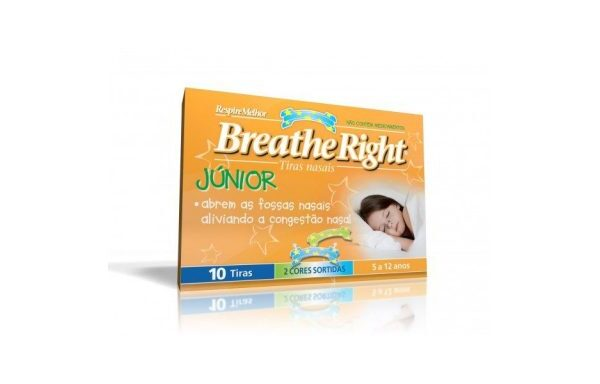 BREATHE RIGT TIRA NASAL JUNIOR 10 UDS