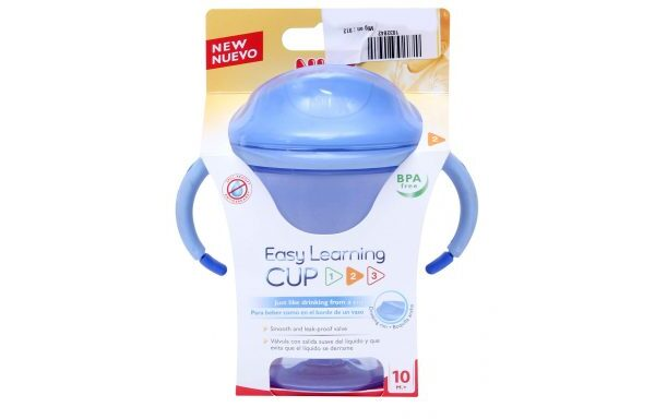 EASY LEARNING ELTIMATE CPU MINI VASO PARA APRENDE A BEBER NUK