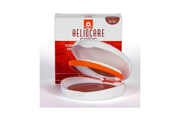 HELIOCARE SPF50 OIL FREE COMPACTO BROWN [202922]