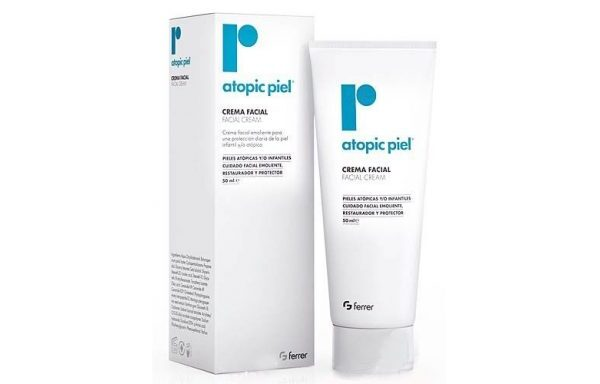 Repavar Atopic Piel Crema Facial 50 Ml