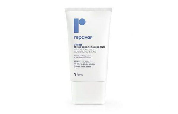 Repavar Oil Free Crema Hidroequilibrante
