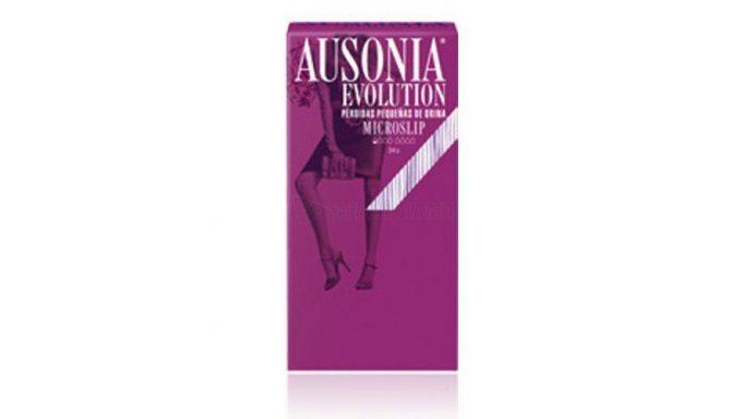 Ausonia Evolution Microslip Incontinencia Ligera 34 Unidades