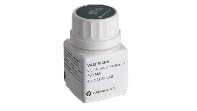 Valeriana 500 Mg. 60 Caps.