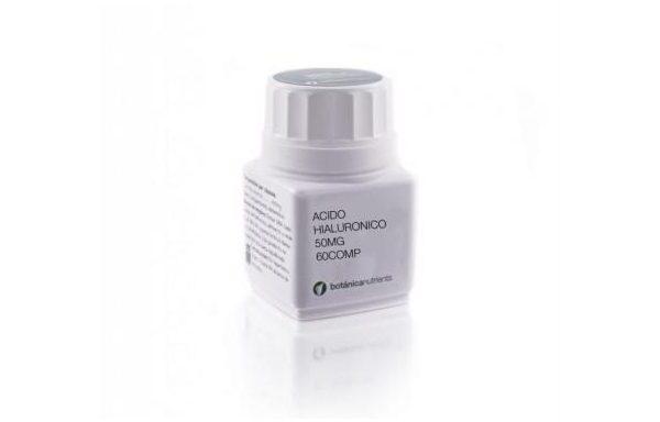 ACIDO HIALURONICO 60 Comprimidos 500mg de Botánica Nutrients