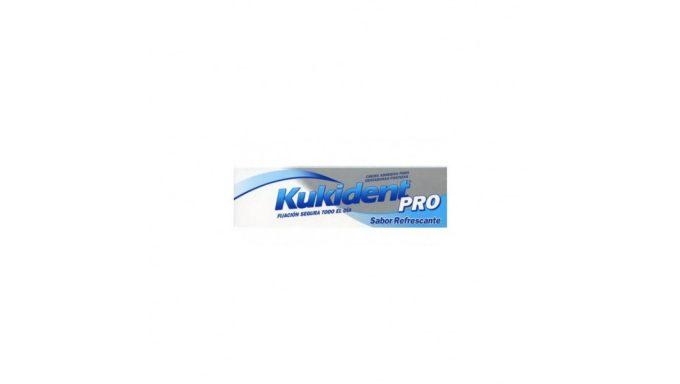 KUKIDENT PRO COMPLETE REFRESCANTE 47GR Crema Adhesiva DENTADURAS