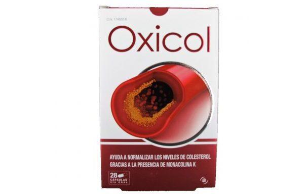 Oxicol 28 Capsulas Actafarma CN 174553