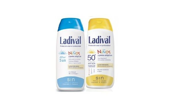 ladival niños fps50+ y after sun